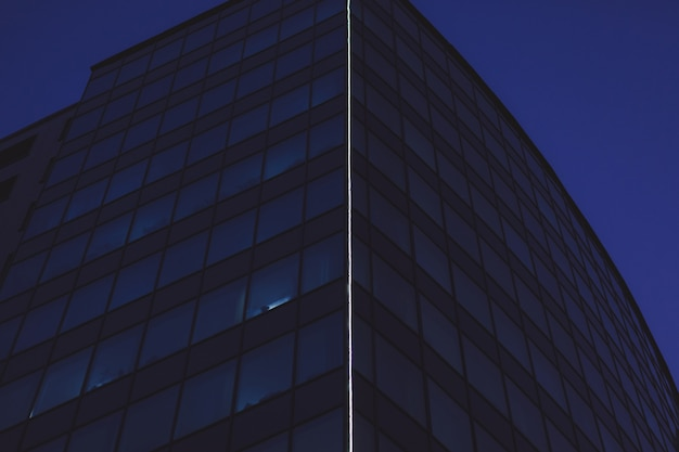 ガラスの近代的なオフィス