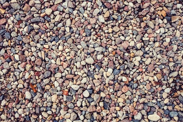 小石と抽象的な背景