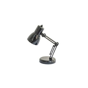 Маленькая лампа крупного плана изолированная на белизне с путем клиппирования