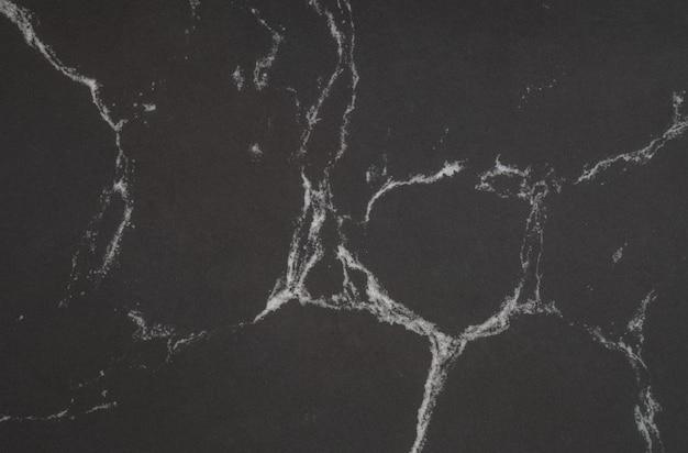クローズアップ表面の黒い大理石の壁のテクスチャ背景