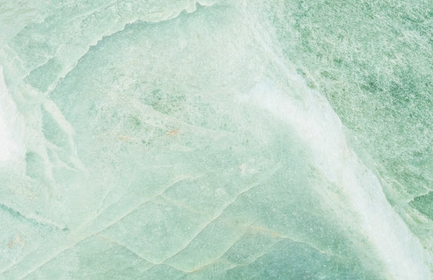 緑の大理石の石造りの壁テクスチャ背景でクローズアップ表面大理石パターン
