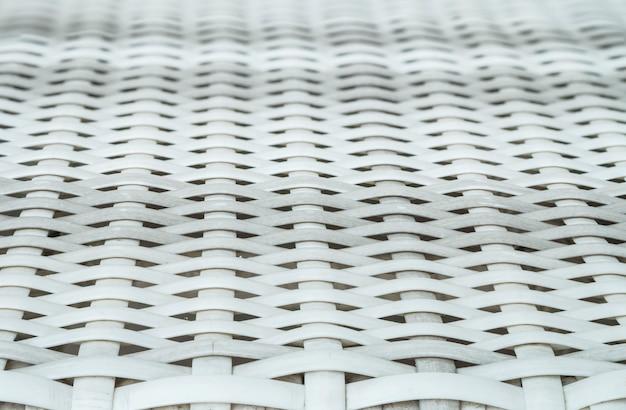 木織り椅子テクスチャ背景のクローズアップ表面木目模様