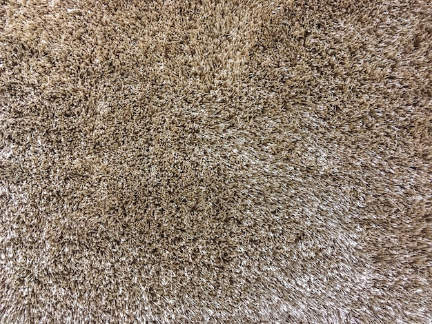 Макрофотография поверхности абстрактный узор ткани на коричневой ткани ковер текстуры фона