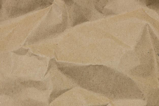 Коричневый мятой бумаги текстуру фона