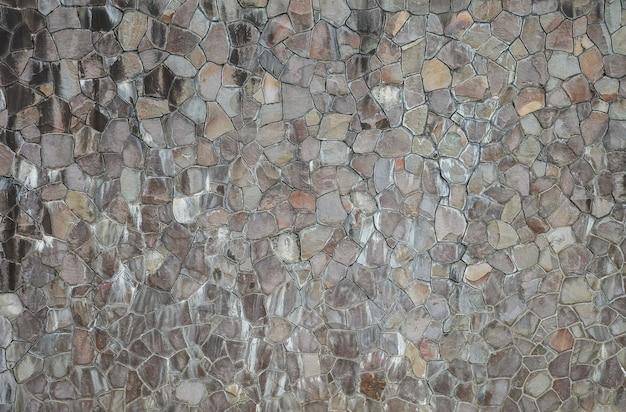 古くて汚い石レンガの壁のテクスチャ背景