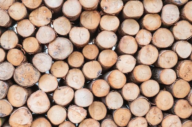 Макрофотография деревянный шаблон на кучу старой древесины дерева текстурированный фон