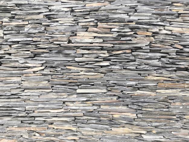 クローズアップ表面レンガ模様の古い石レンガの壁のテクスチャ背景