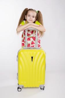 Концепция путешествий и туризма с ребенком.