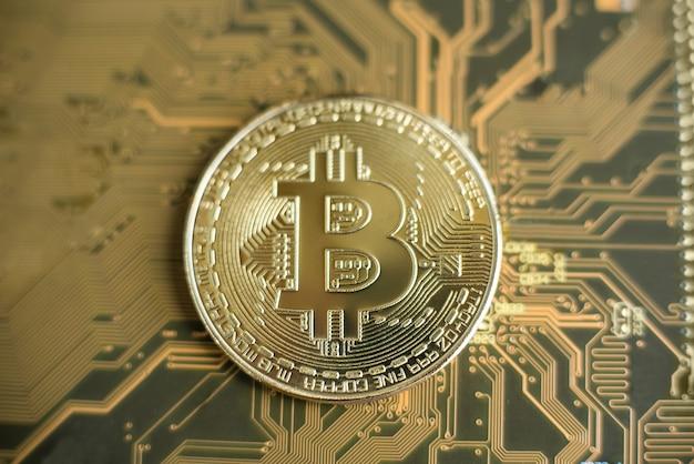 Технология блокчейн, концепция майнинга биткойнов.