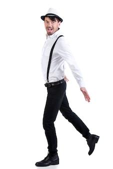 若い優雅なダンサー。