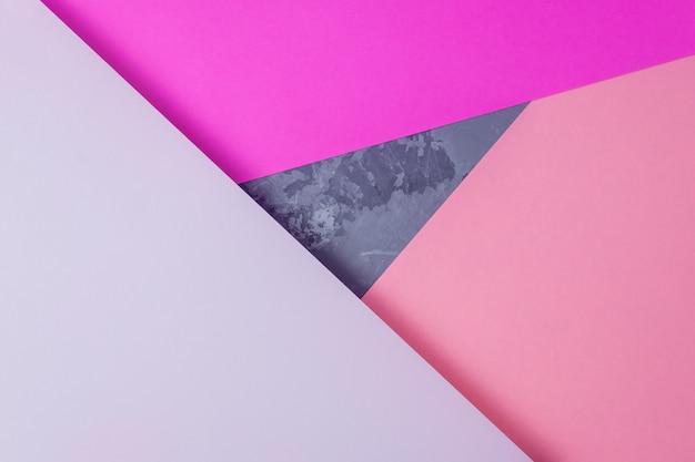 紙のテクスチャ背景。抽象的な色の幾何学的デザイン。