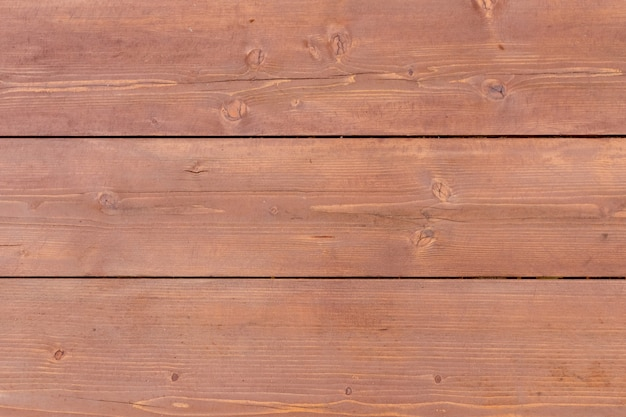 水平方向の木板デッキテクスチャ背景。