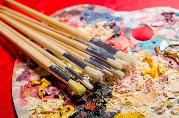 アーティストパレットの色