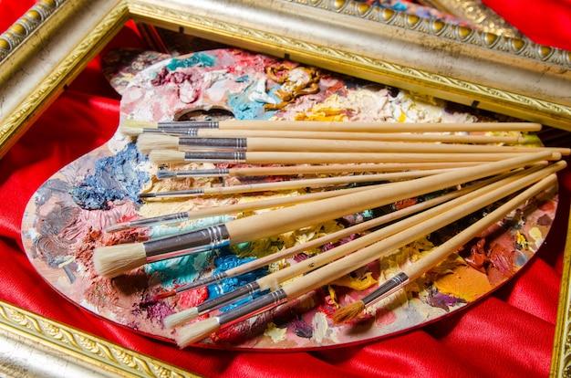 Палитра художника в художественной концепции