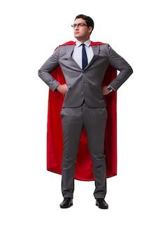 分離されたスーパーヒーローの実業家