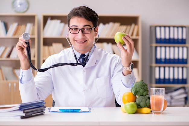 遺伝子組み換え食品のコンセプトの医師
