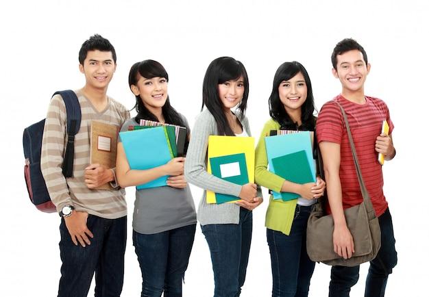 学生のグループ