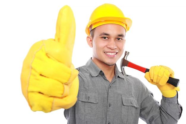 Красивый работник