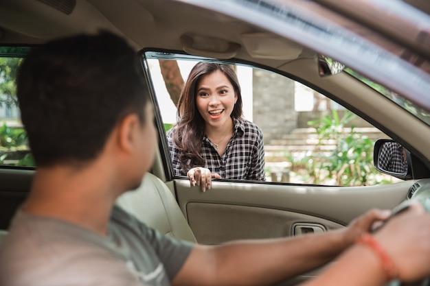 女性タクシーのお客様