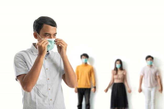 Мужские маски для защиты от вируса короны