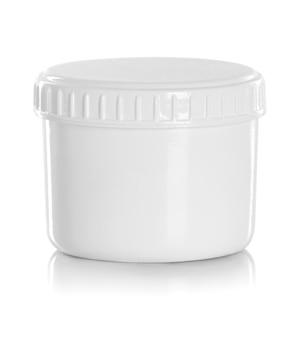 Баночка или пустая упаковка для косметического продукта