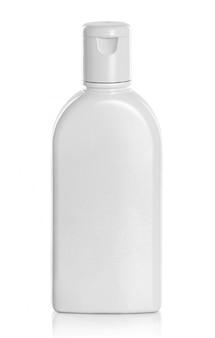 Белый продукт для крема или геля косметики