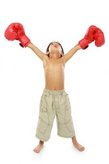 若いボクサー
