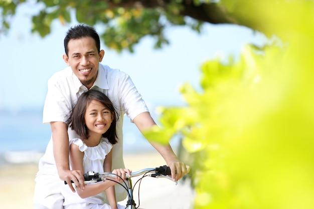 家族の自転車