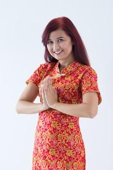 Китайская девушка желает тебе