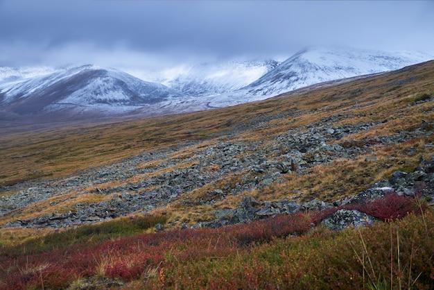アルタイの秋の風景。