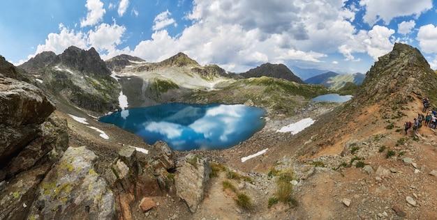Пейзаж гор софийских озер