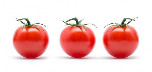 緑の葉とトマト