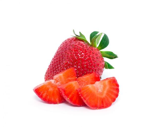 新鮮な赤いイチゴ