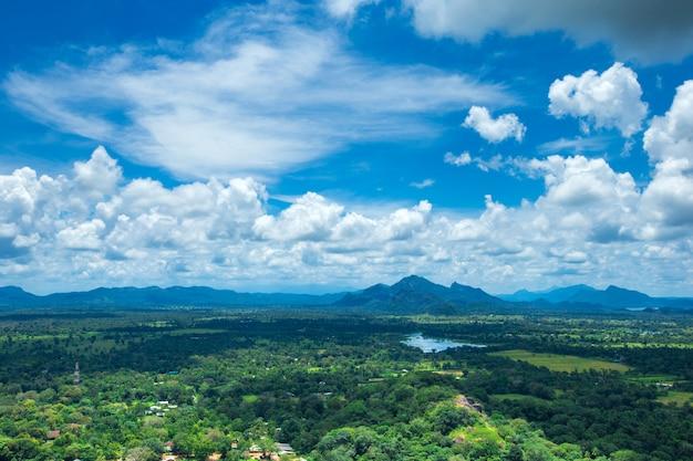 スリランカのシギリヤライオンロック要塞