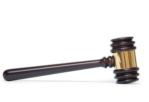 木製裁判官小槌