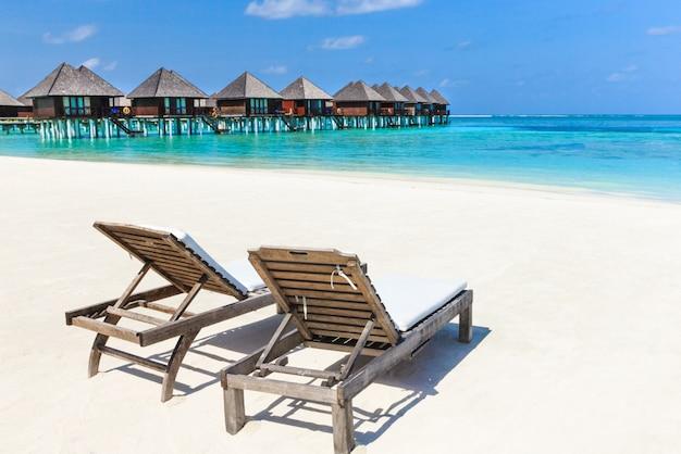 Пляж с мальдивами