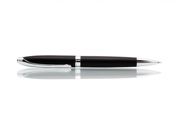 白い背景で隔離のペン