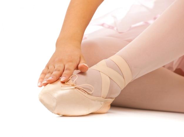 バレエダンサーの足の詳細