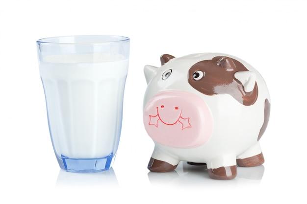 牛乳のミルク