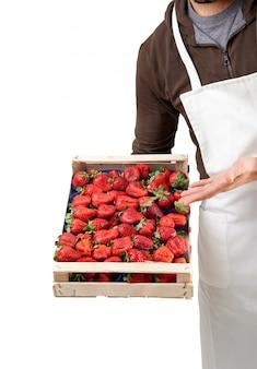 ボックスのイチゴ