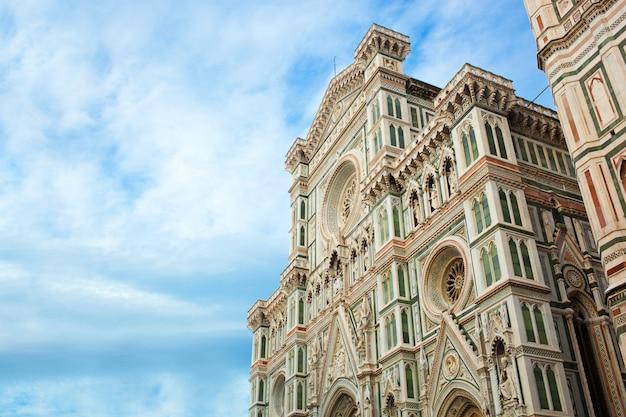 フィレンツェの花の聖マリア大聖堂。