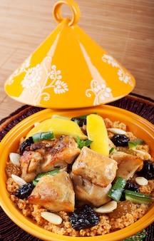 タジン、モロッコ料理。