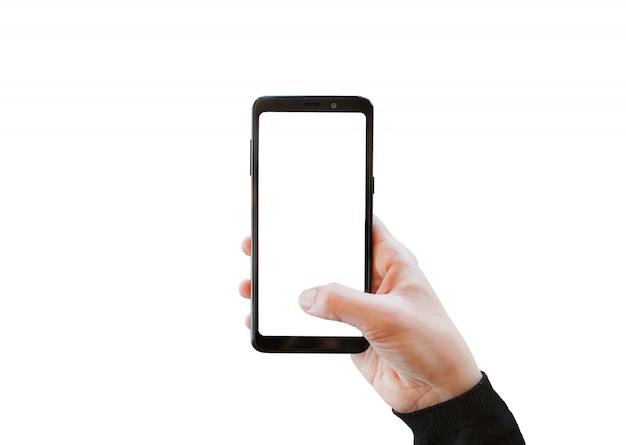 カメラを携帯電話で使用する。
