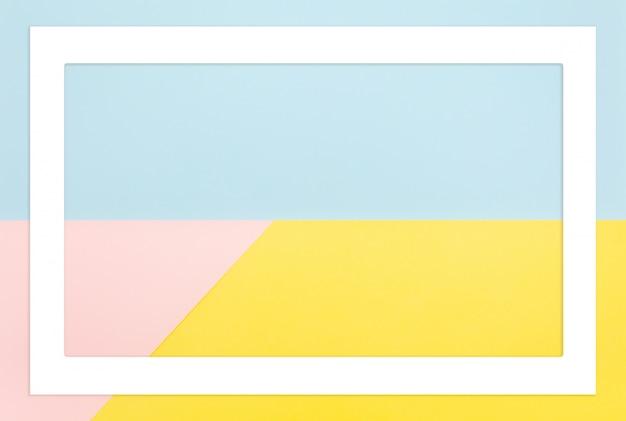抽象的な幾何学的形状のパステルカラー。