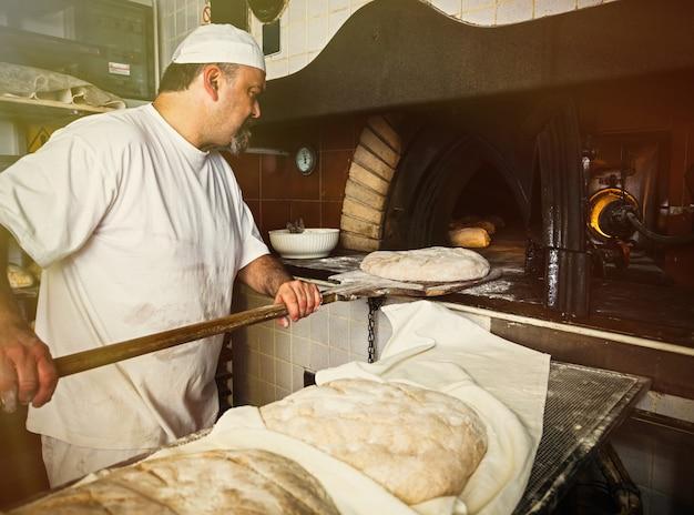Производство хлебобулочных изделий с дровяной печью в пекарне