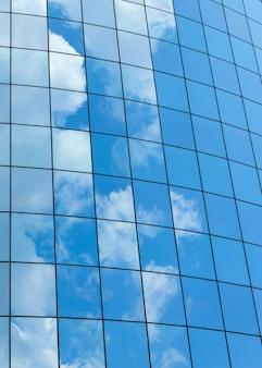 Современные стеклянные фоны небоскребов