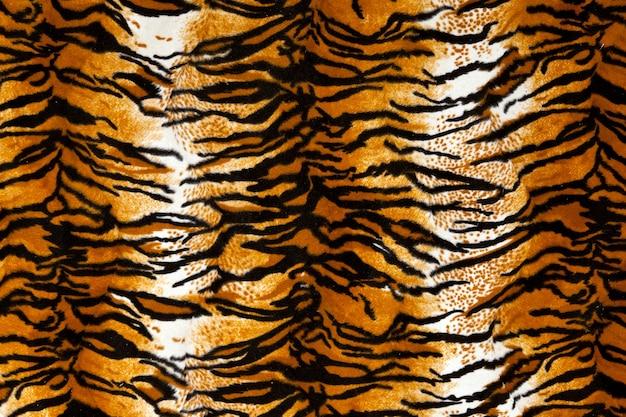 タイガープリントの背景、アニマルプリント