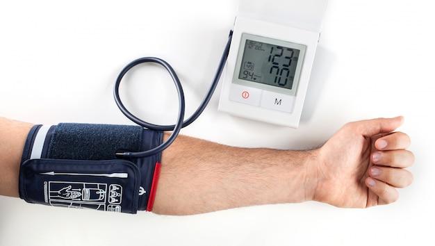 血圧を確認する