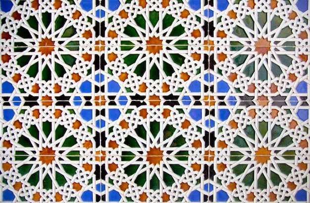 Деталь мозаичного пола