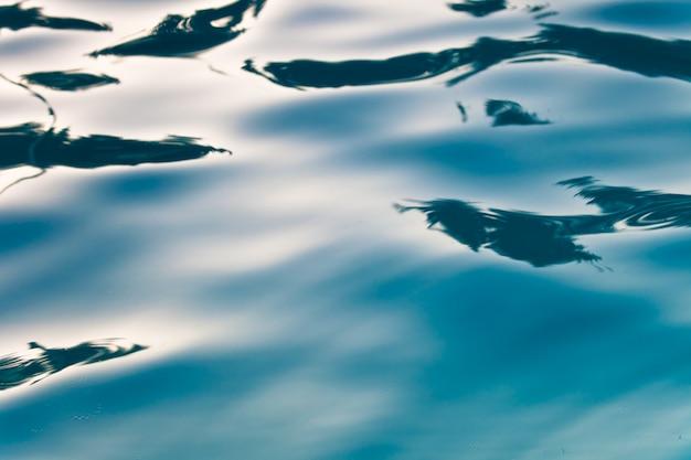 水と反射の背景